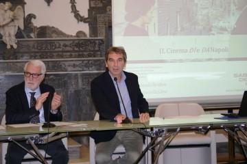 Il cinema DI e DA Napoli_Nicola Giuliano con Valerio Caprara (1)